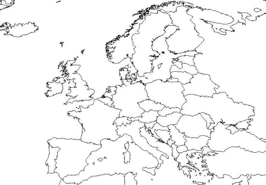 881x612 best photos of europe and asia map outline