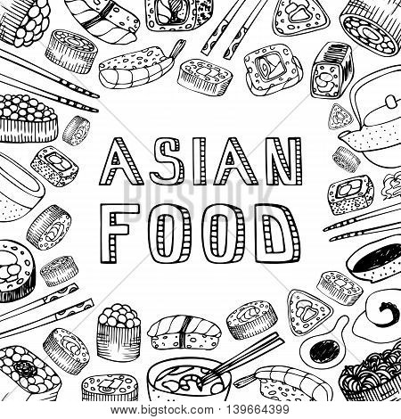 450x470 Asian Food Background. Asian Food Vector Amp Photo Bigstock