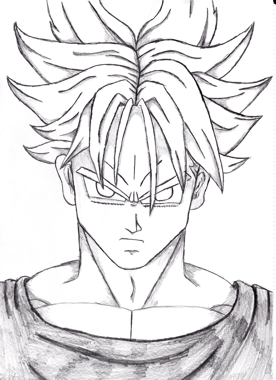 900x1236 Dragon Ballz Face Pencil Drawing Asmr Pencil Drawing 14 Dragon