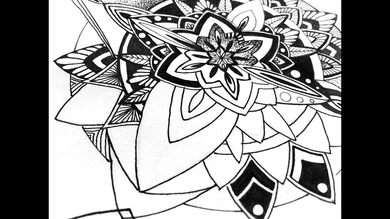 1280x720 Playing Around With Some Mandala Elements