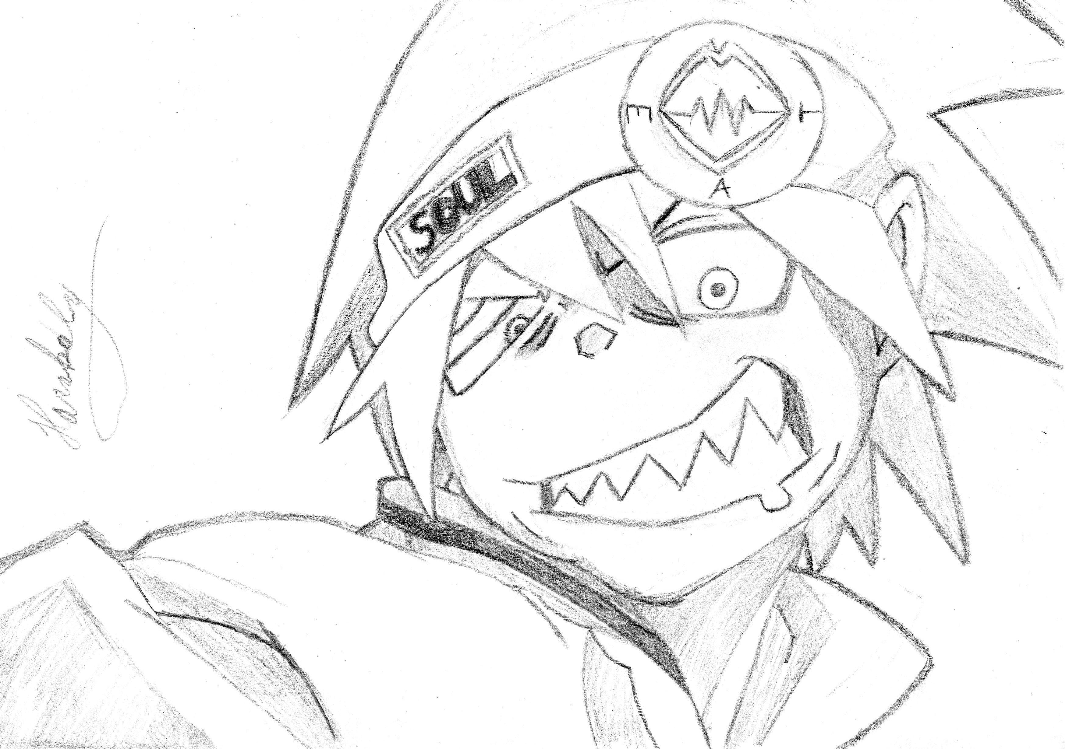 3509x2461 Soul Eater Drawings Soul Eater Evans Drawing