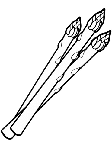 371x480 Asparagus Coloring Page Free Printable Coloring Pages