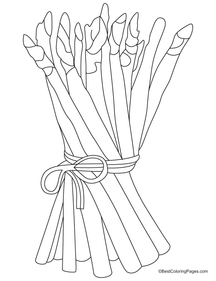 720x936 Bunch Asparagus Coloring Pages Download Free Bunch