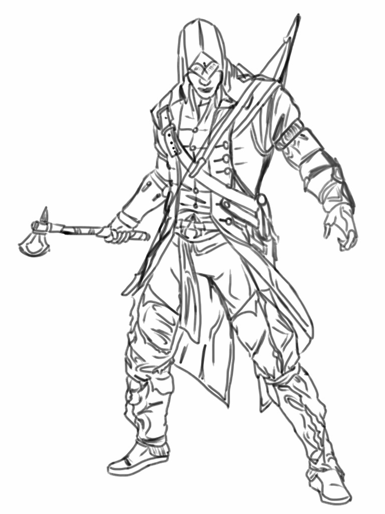 Assassins Creed Drawing At Getdrawings Com Free For