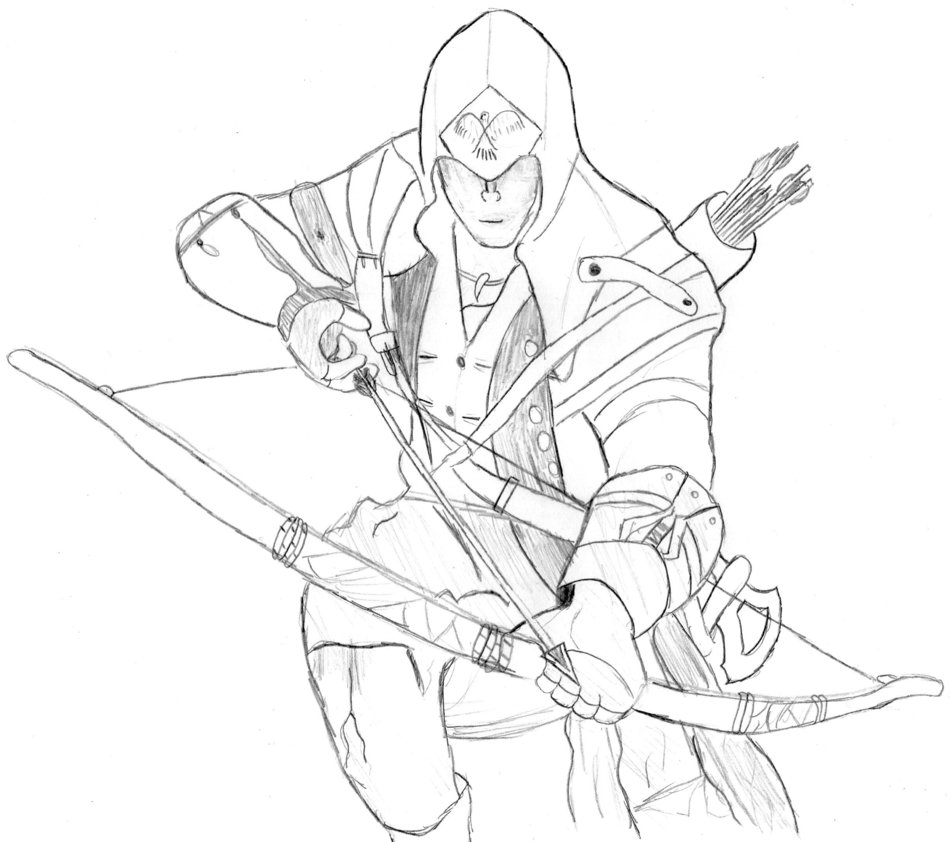Assassins Creed Drawing At Getdrawings Free Download