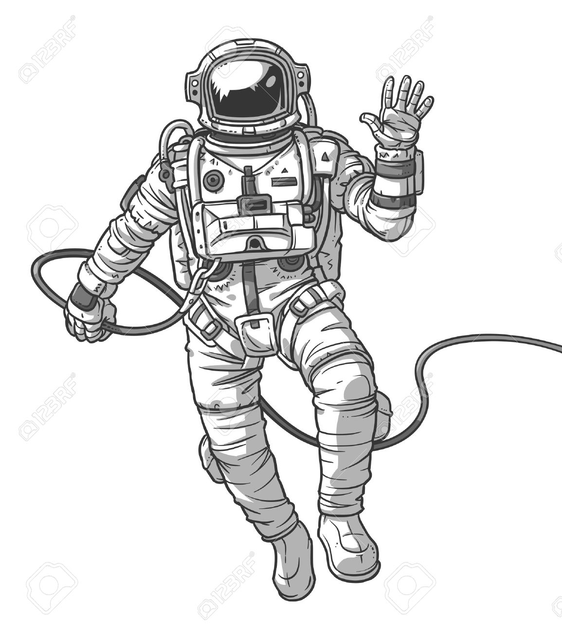 Astronaut Drawing At GetDrawings.com | Free For Personal Use Astronaut Drawing Of Your Choice