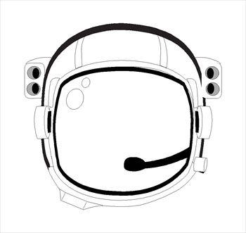 350x331 Inspirational Astronaut Helmet Clipart