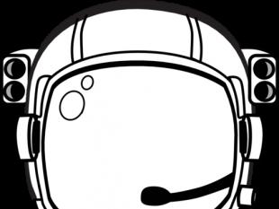 310x233 Astronaut's Helmet Free Vectors Ui Download