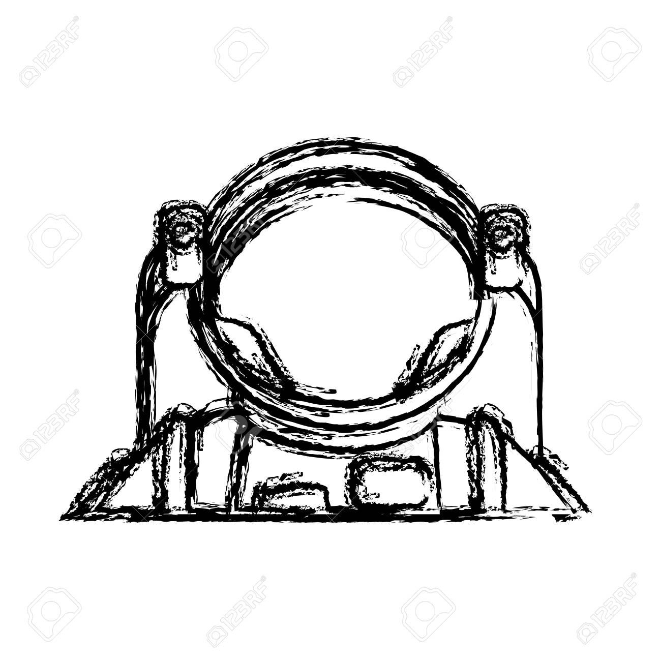 1300x1300 Astronaut Portrait In Space Suit Helmet Vector Illustration
