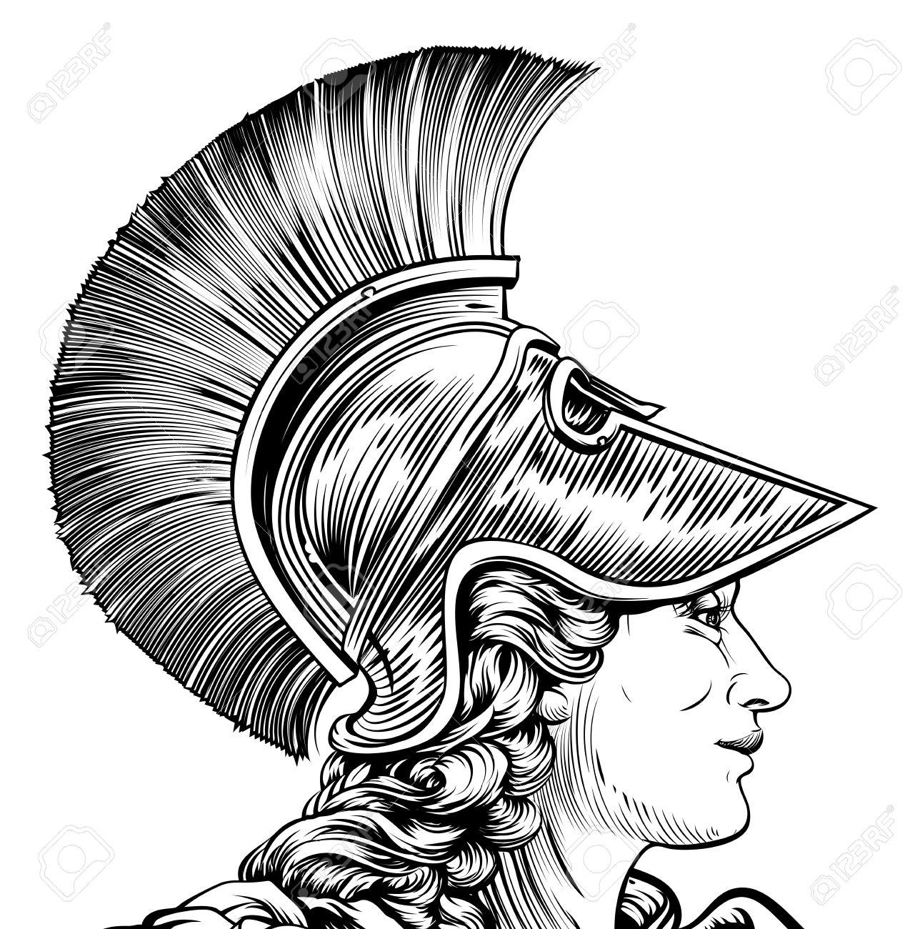 Athena Drawing