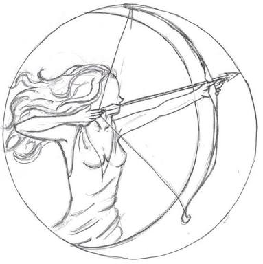 383x384 Image Result For Artemis Drawings Artemis, Draw