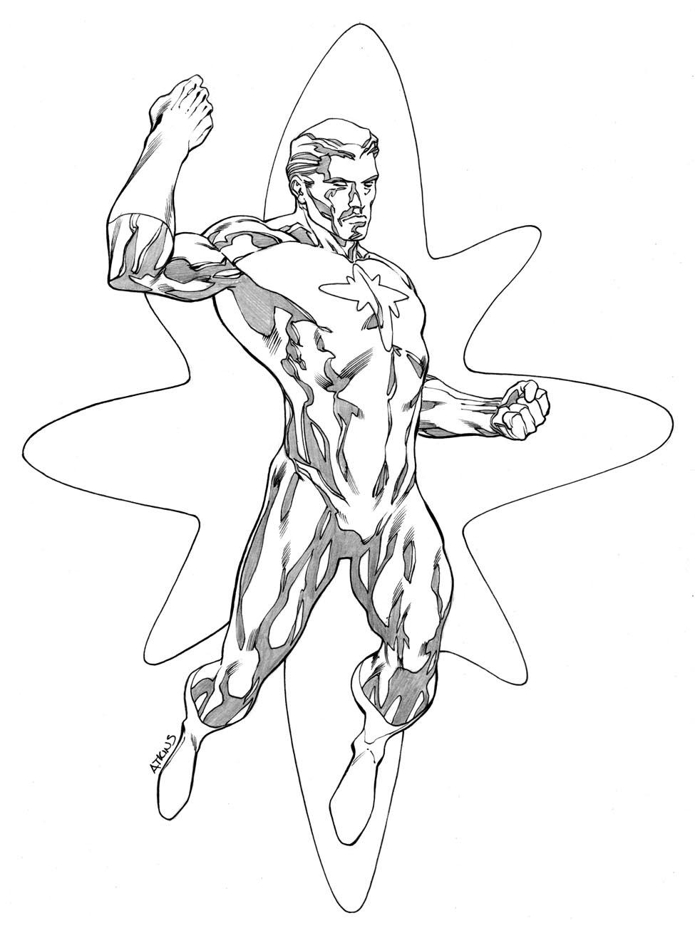 975x1303 Captain Atom Robert Atkins Art