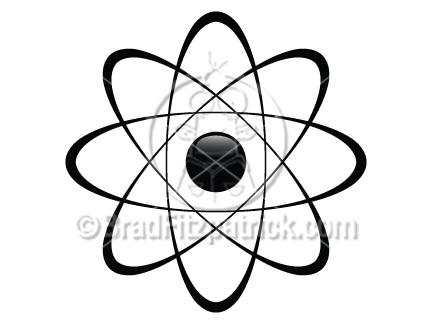 432x324 Atom Clip Art Atom Graphics Clipart Atom Icon Vector Art Drawing