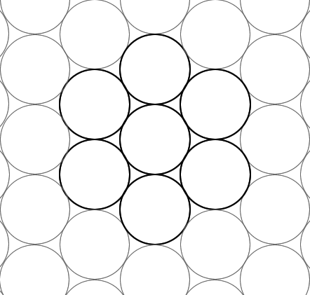 442x421 Close Packing Of Atoms Amp Metallic Elements Biochem.co