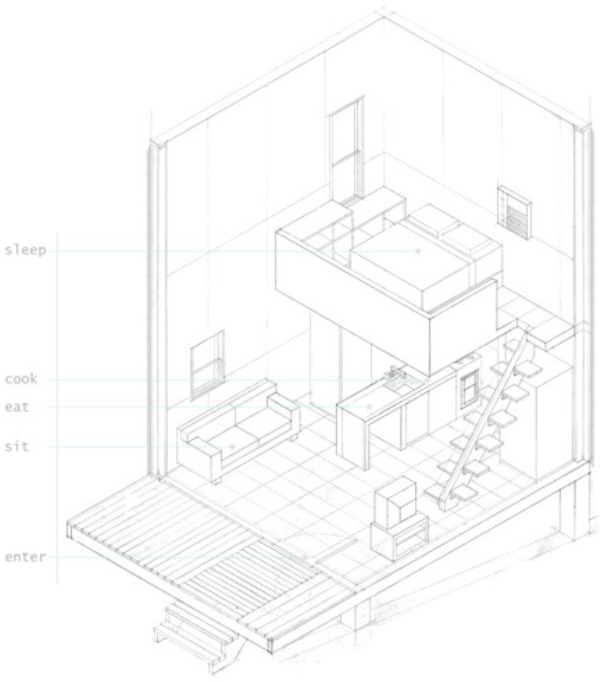 600x682 Loft House Designs On A Budget
