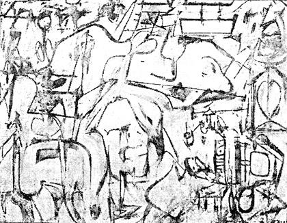 420x326 Willem De Kooning, Little Attic, C.1949 Willem De Kooning