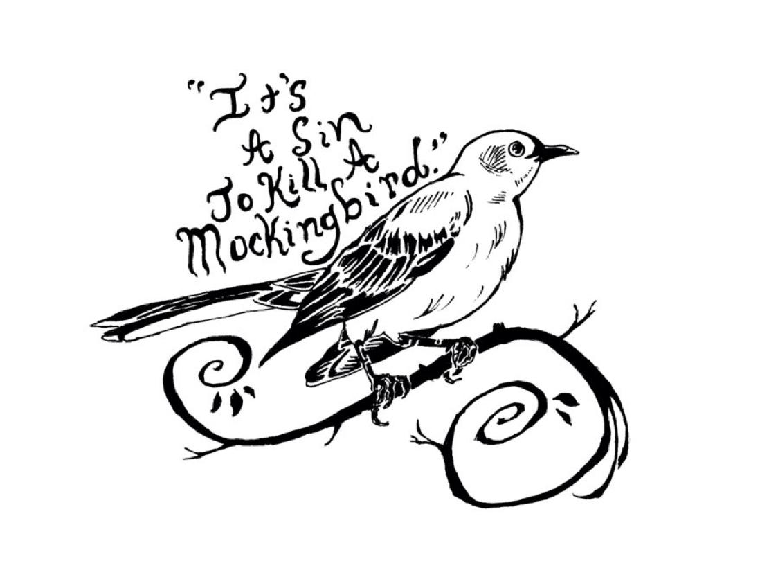 1124x820 To Kill A Mockingbird By Evan Ingram