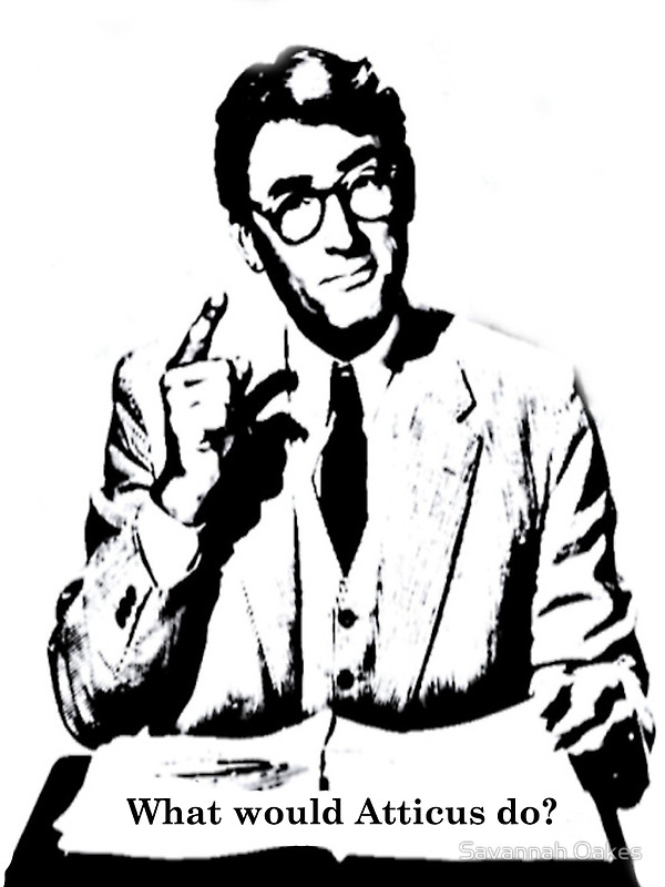 600x800 What Would Atticus Do Art Prints By Savannah Oakes Redbubble