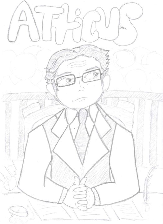 524x720 Atticus Finch By Ohmyfeathers 1901