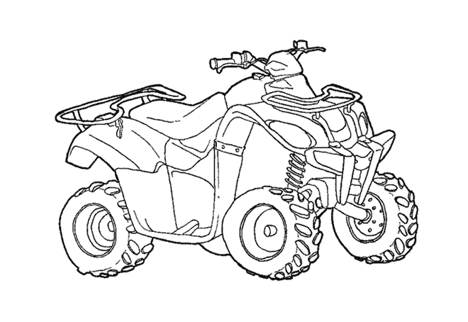 Atv Drawing At Getdrawings Com