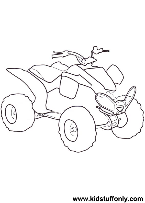 567x794 Atv Coloring Pages