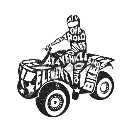 450x450 Atv Silhouette Stock Photos. Royalty Free Business Images