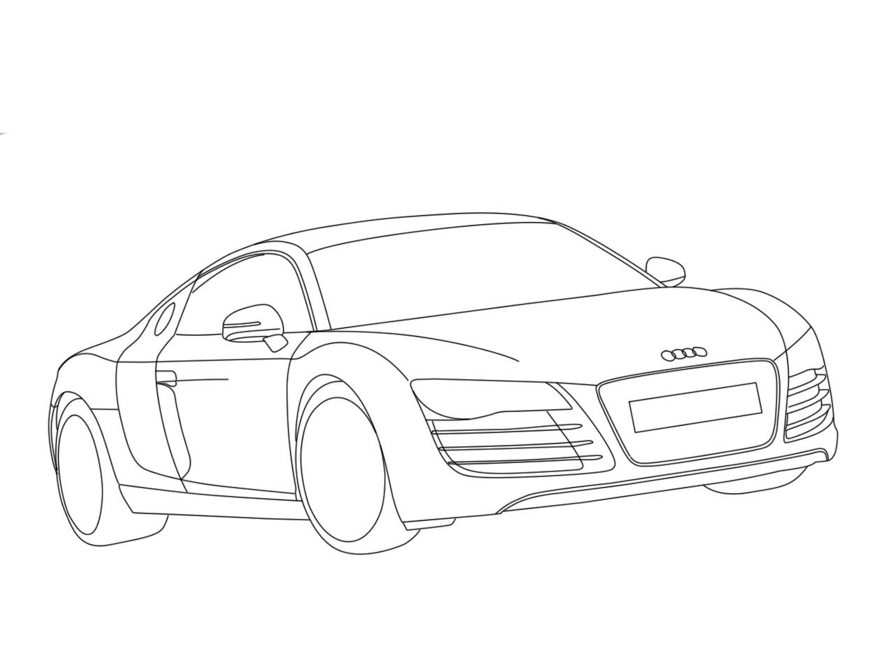 1280x960 Audi R8 Spyder By Dragonr1der On Drawing Step Design