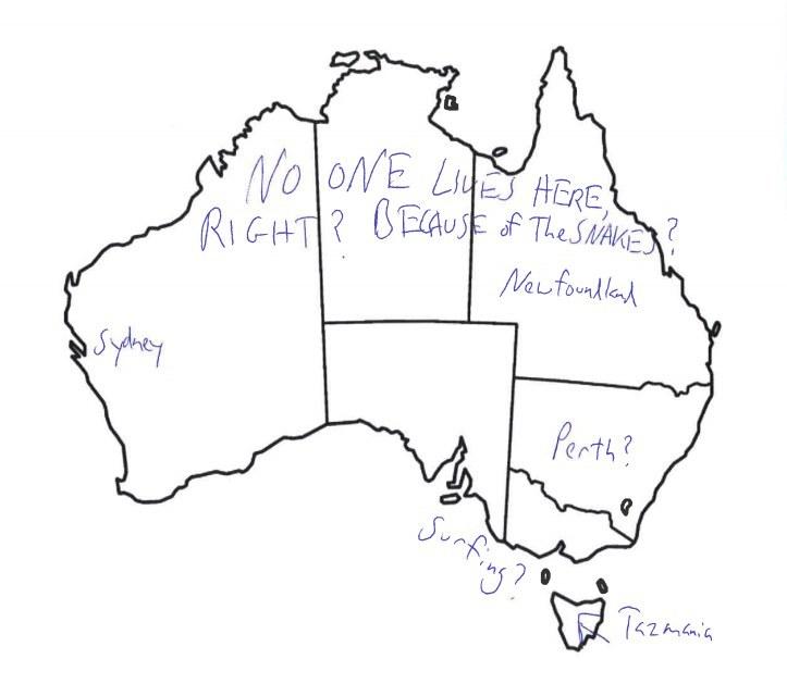 723x629 Free Download Map Of Australia