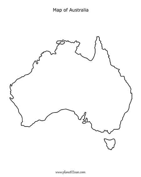 450x563 map of australia line drawing wonderfulcreation