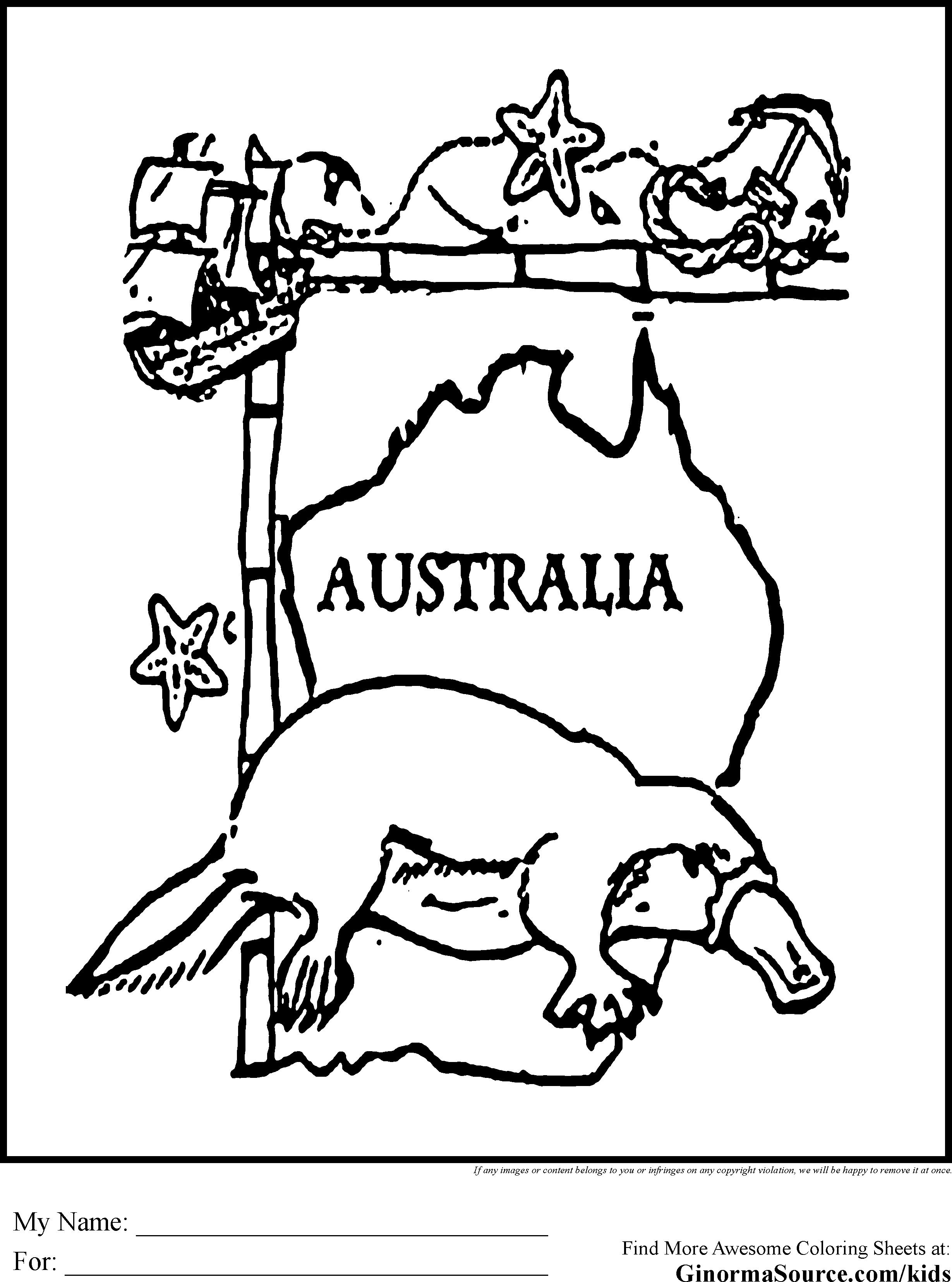 Australian Animals Drawing At Getdrawings Free For Personal