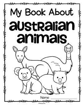 270x350 Animals From Australia Activity Printables For Preschool