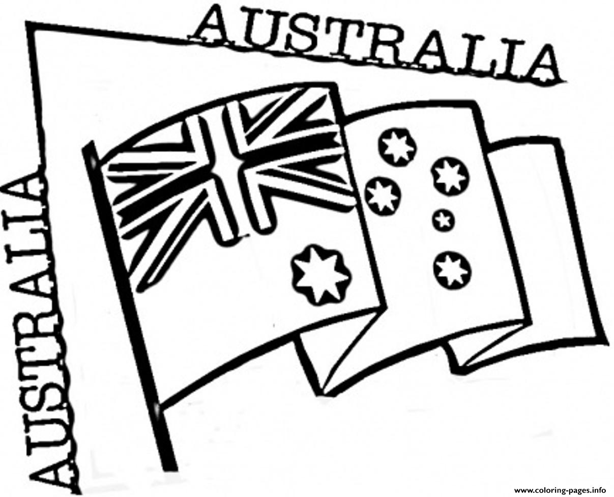 1207x976 Preschool Australian Flag Coloring Pages Printable
