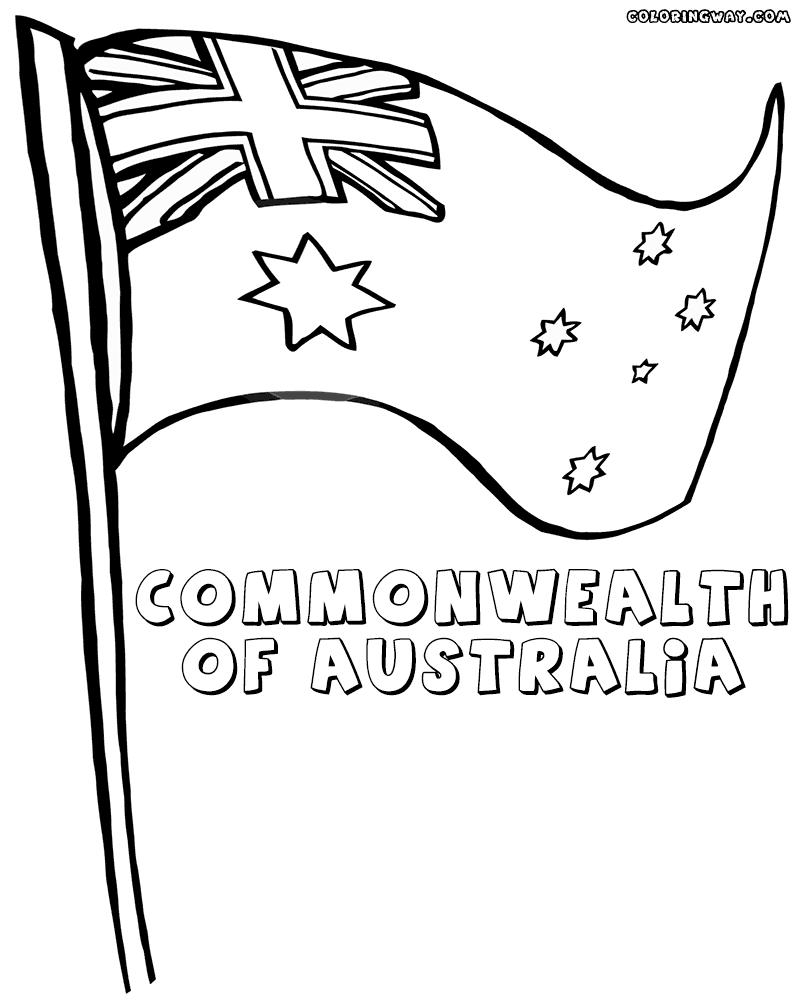 Australian Flag Drawing at GetDrawings.com | Free for personal use ...