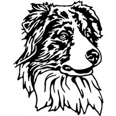 236x236 Australian Shepherd Logo