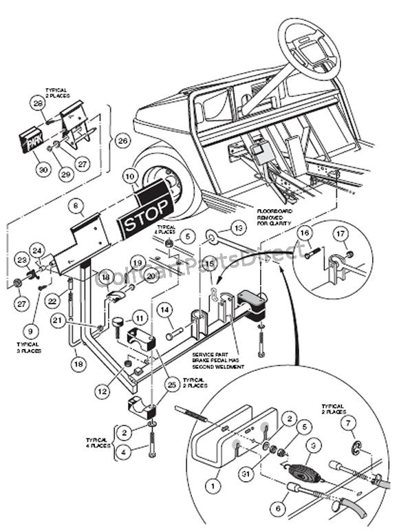 auto parts drawing at getdrawings.com | free for personal ... club car golf cart parts diagram 88