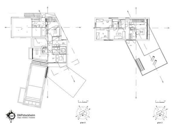 600x434 Extraordinary Implausible Secluded Villa Midgard By Dapstockholm