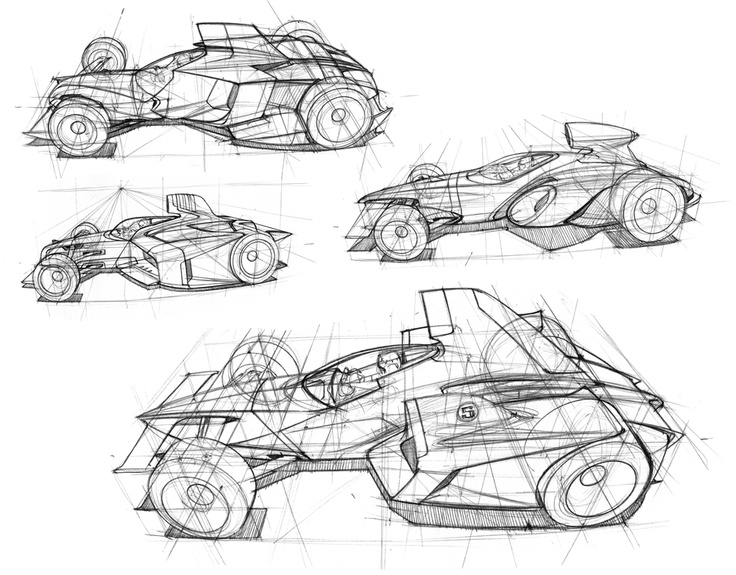 736x575 7 Best Drawing Cars Images On Car Sketch, Perspective