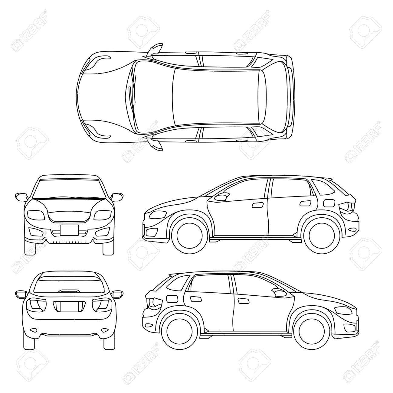 automobile drawing at getdrawings com