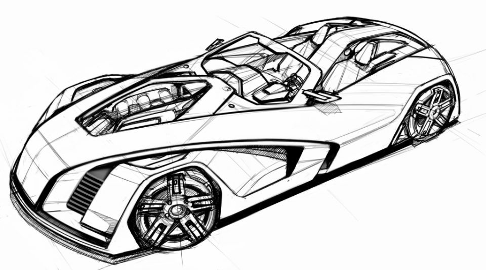 Automobile Drawing At Getdrawings Com Free For Personal Use