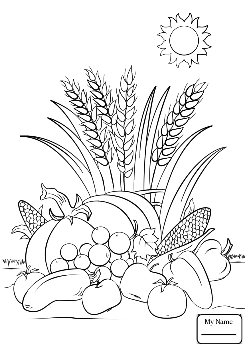 Autumn Scene Drawing at GetDrawings | Free download