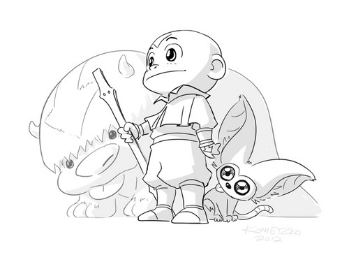 Avatar The Last Airbender Drawing at GetDrawings.com | Free for ...