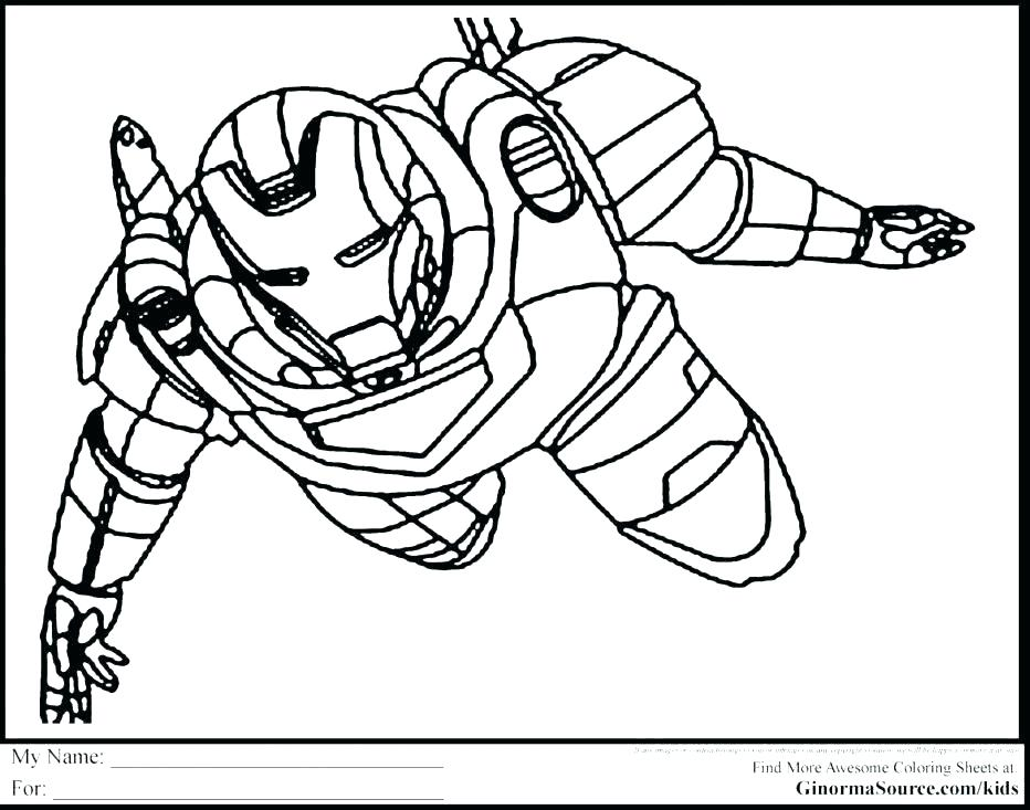 Avengers 4 Coloring Pages Coloring