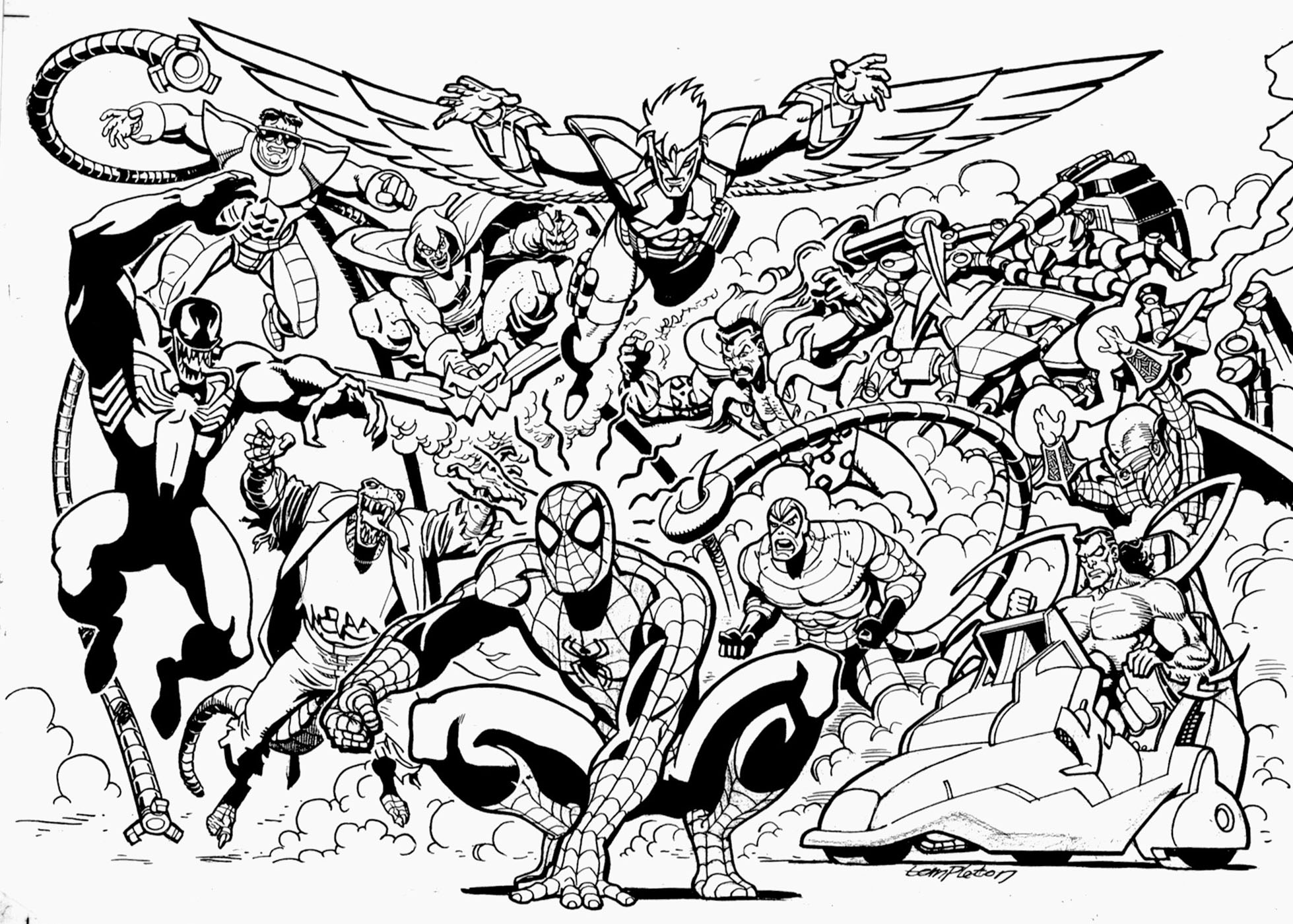 Avengers Drawing At GetDrawings.com