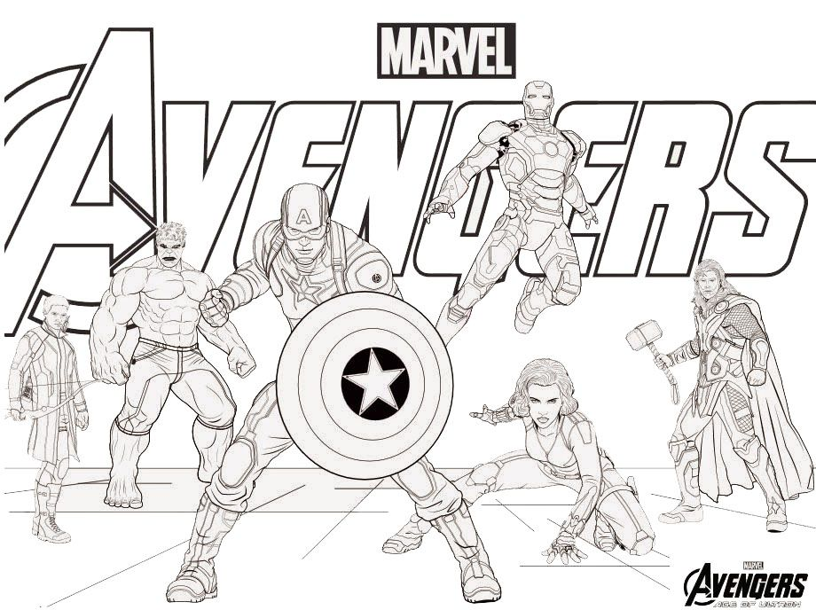 Avengers Drawing at GetDrawings | Free download