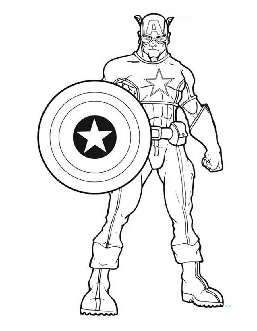 Avengers Drawing For Kids at GetDrawings | Free download