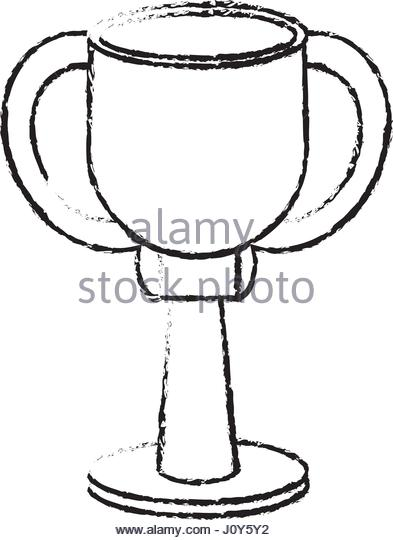 393x540 Drawing Winner Cup Trophy Prize Stock Photos Amp Drawing Winner Cup