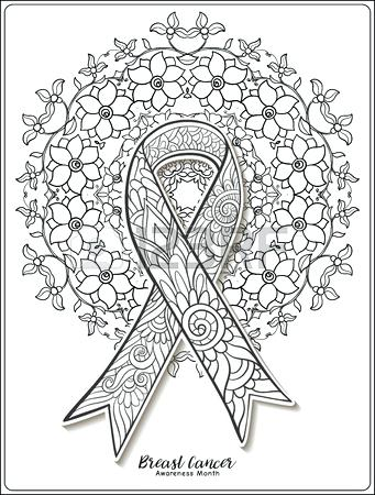 341x450 Breast Cancer Awareness Coloring Pages 29 In Addition To Breast