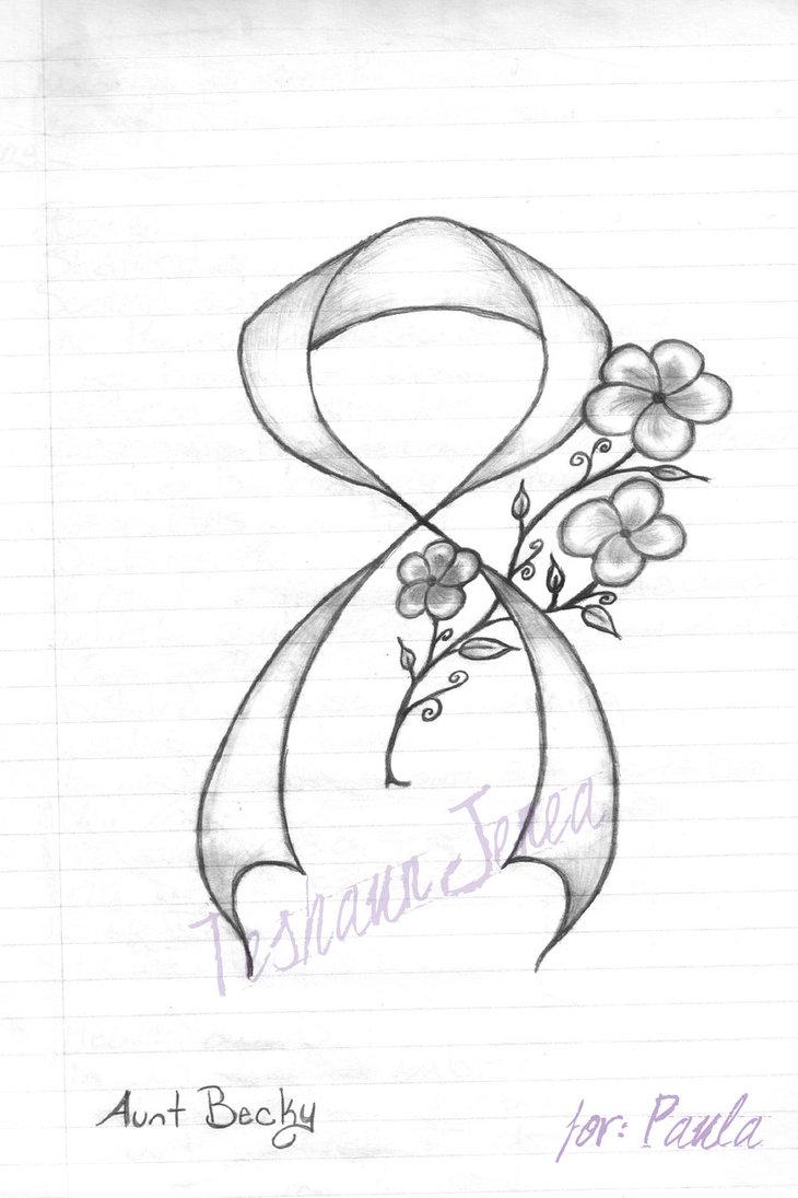 Awareness Ribbon Drawing at GetDrawings