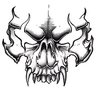 380x346 14 Best Design Slayer Studios Images On Skull Art