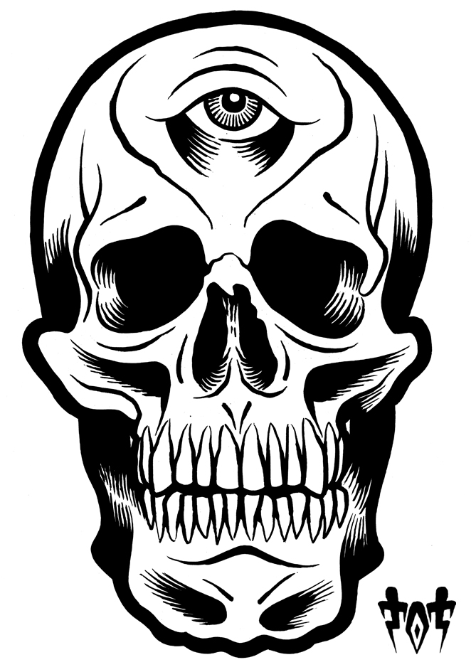 669x945 Cool Skull Drawing = Tot Copenhagen Blog =